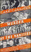 Murder at the Vanities - 1934 - poster