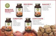 medicinal mushrooms, mushroom, capsule, Purica