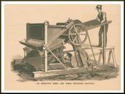 Shelby Fiber Breaker Machine, hemp, industrial, harvesting