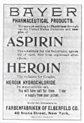 Bayer Aspirin and Heroin Advertisement