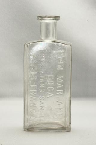 Vin Mariani Clear Bottle