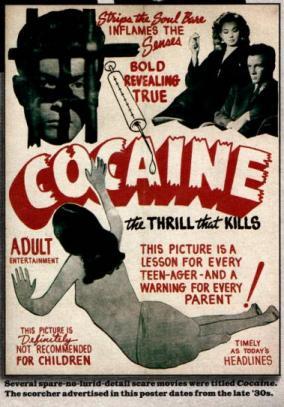 Cocaine, Pulp Fiction, antidrug