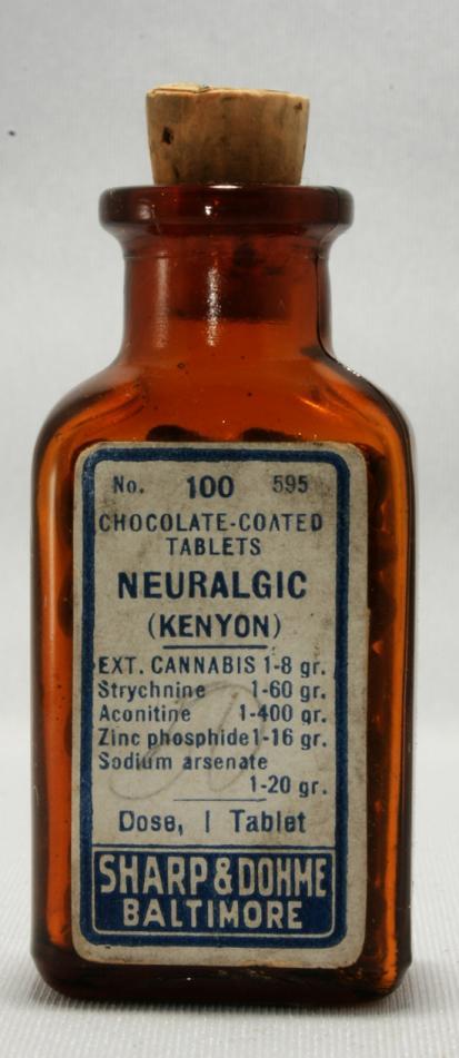 Sharp & Dohme Cannabis Neuralgic