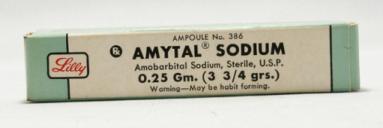 Amytal Sodium #1