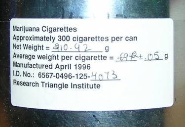 US Government Medical Cannabis Tin Label Up Close2.JPG