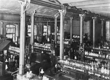 Bayer Production Floor Elberfeld, Indiana (1908)