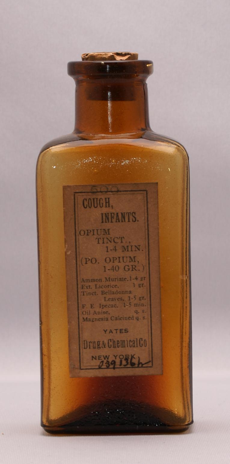 Yates Drug Amp Chemical Co Opium Tincture Herb Museum